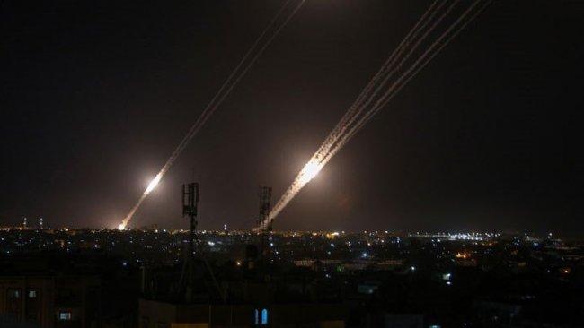 İsrail ordusu: Lübnan'dan en az 10 roket atıldı