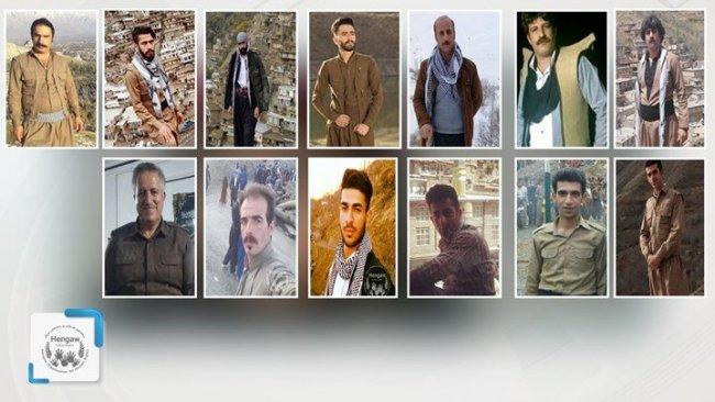 İran'da 3 aydır gözaltında olan 13 Kürd ağır baskı altında