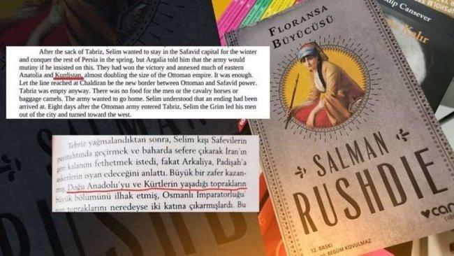 Yazar Salman Rushdie'den 'Kürdistan' sansürü açıklaması