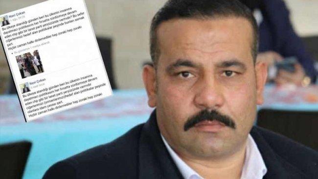 CHP'lilere 'bunları asmak şart' diyen AK Partili Çokan görevden alındı