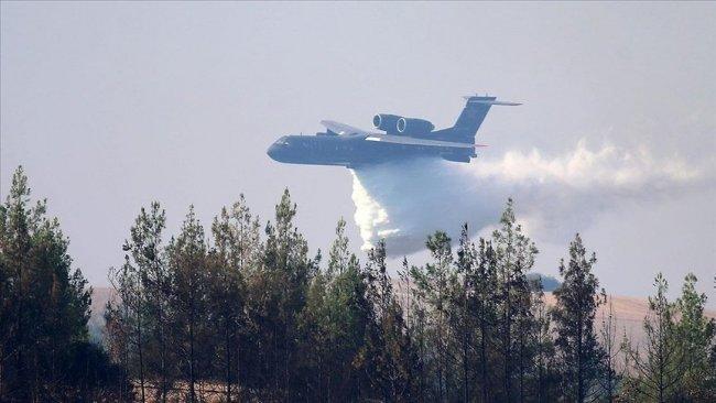 Maraş'ta yangın söndürme uçağı düştü: 8 ölü