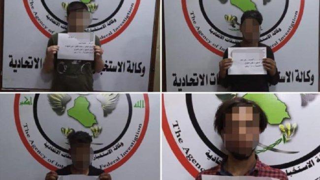 Irak'ta üst düzey 7 IŞİD'li yakalandı