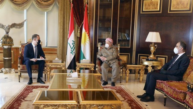 Macaristan'dan Başkan Barzani'ye kutlama mesajı