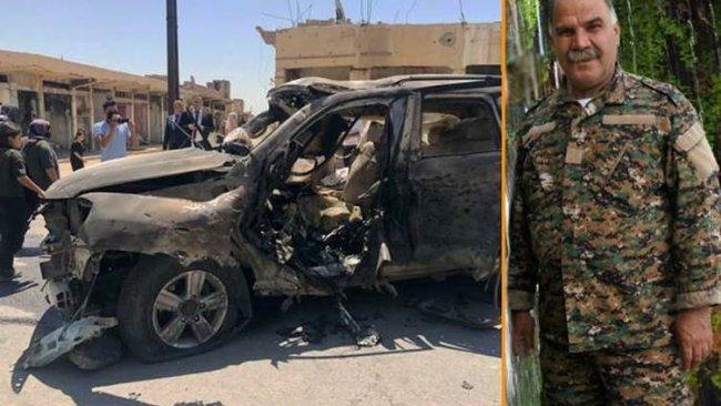 YBŞ'li komutan Şengal'deki hava saldırısında hayatını kaybetti