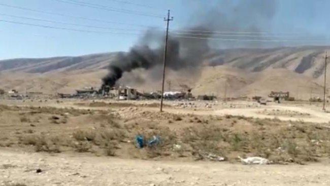 Savaş uçakları Şengal'de bir sağlık ocağını bombaladı