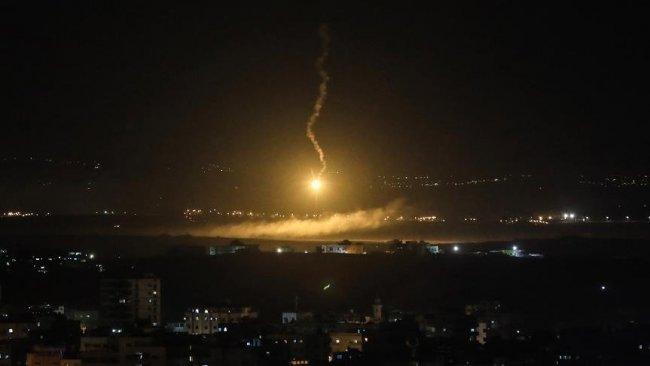İsrail'den Suriye'ye füzeli saldırı
