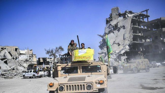 DSG, Rakka'da 34 IŞİD'linin yakalandığını duyurdu