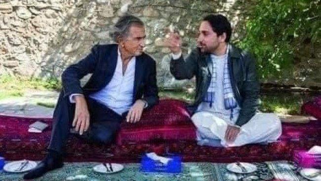 Henri Levy, Taliban'ın kontrolüne geçmeyen Pençşir'de