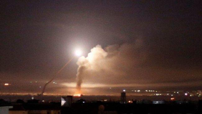 SANA: İsrail Suriye'ye hava saldırıları gerçekleştirdi