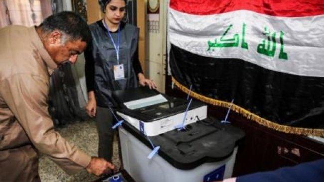 Irak'ta seçim öncesi sıkı önlemler alınıyor