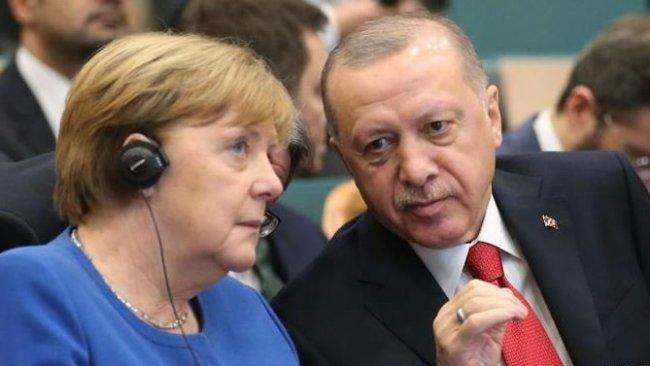 Erdoğan ile Merkel görüştü: 'Bu yükü kaldıramayız'