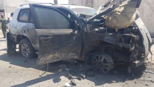 Kamışlo'da DSG'ye ait araç bombalandı