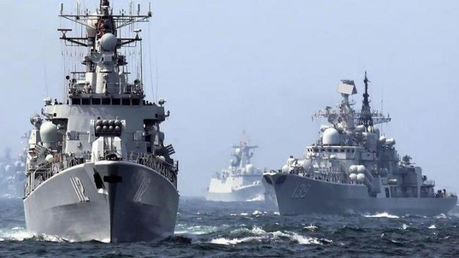 3 ülkeden Basra Körfezi'nde donanma tatbikatı