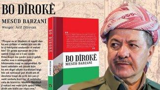 Başkan Barzani'nin 'Tarihe Not' kitabı Fransızca'ya çevrildi