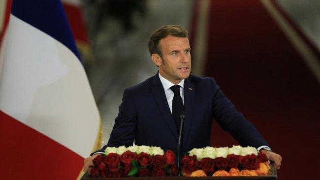Macron: ABD çıksa bile Bağdat isterse Fransız askeri Irak'ta kalır