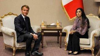 Macron'dan Nadia Murad'a: Sizi bırakmayacağız