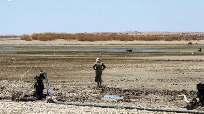 Fırat Nehri kuruyor, insani kriz kapıda