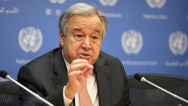Guterres: Afganistan'da insani felaket kapıda