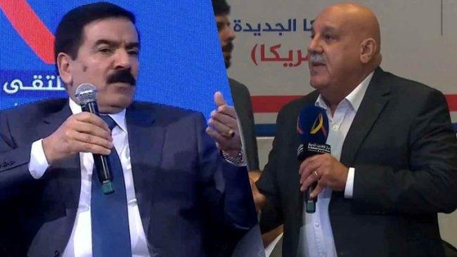 Irak Savunma Bakanı İnad ile Peşmerge Bakanlığı Sekreteri Yawer arasında PKK tartışması