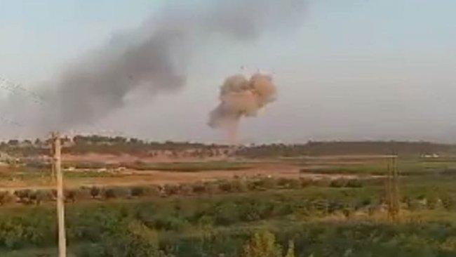 Rus uçakları Efrin'de Türkiye destekli grupları vurdu