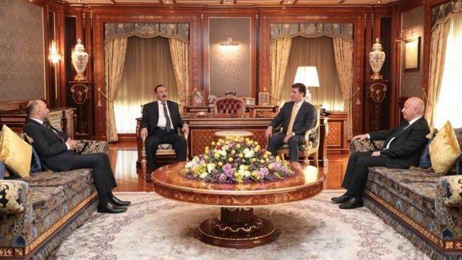 Başkan Neçirvan Barzani ve Musul Valisi'nden Şengal mesajı