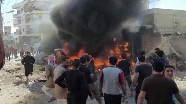 Afrin'de patlam: Ölü ve yaralılar var