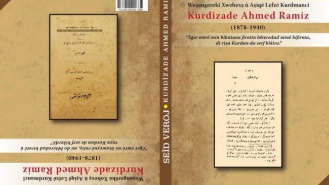 Araştırmacı Yazar Said Veroj: Kurdizade Ahmet Ramiz Bey, 19. ve 20. Yüzyıl Kürt aydınlanmasının önemli öncülerindendir