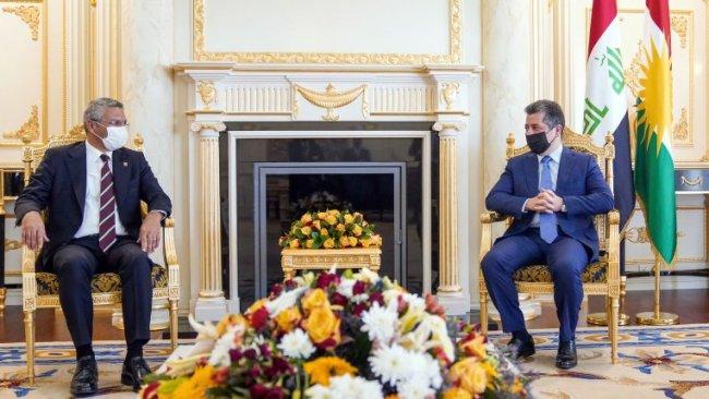 Başbakan Mesrur Barzani, CHP heyetini kabul etti