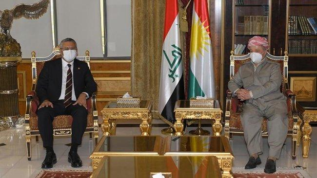 Başkan Barzani CHP heyetiyle görüştü