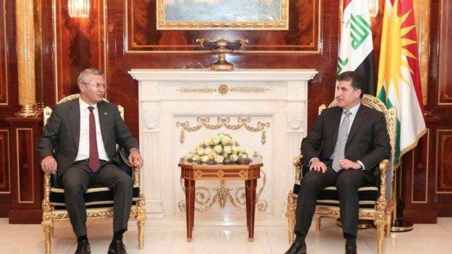 Neçirvan Barzani CHP heyeti ile görüştü