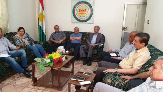 ABD'li yetkili ENKS ile Kürt diyaloğunu görüştü