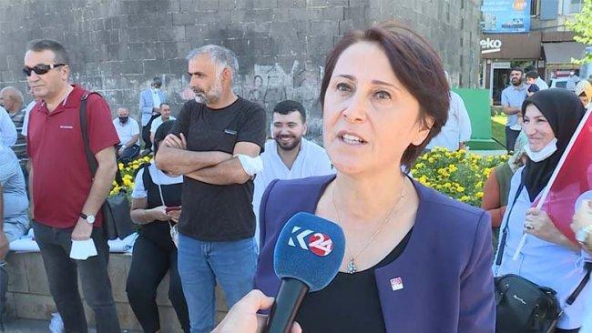 CHP Diyarbakır İl Başkanı: Kürt Sorununun çözümü askeri değil barışçıl olacak