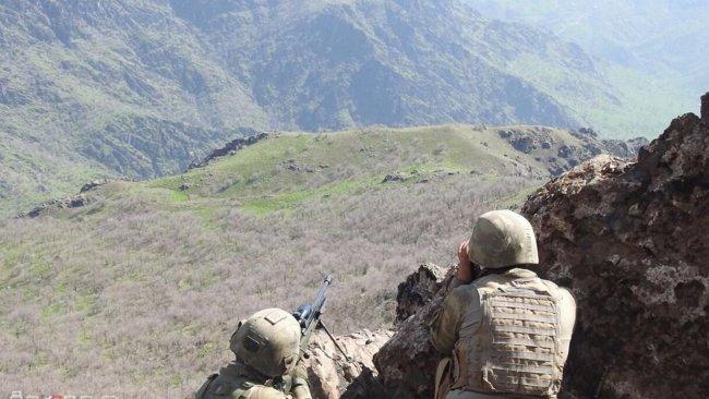 Hakkari'de çatışma: 3 PKK'li hayatını kaybetti