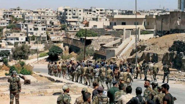 Suriye rejim güçleri Dera'ya girdi: 7 ölü