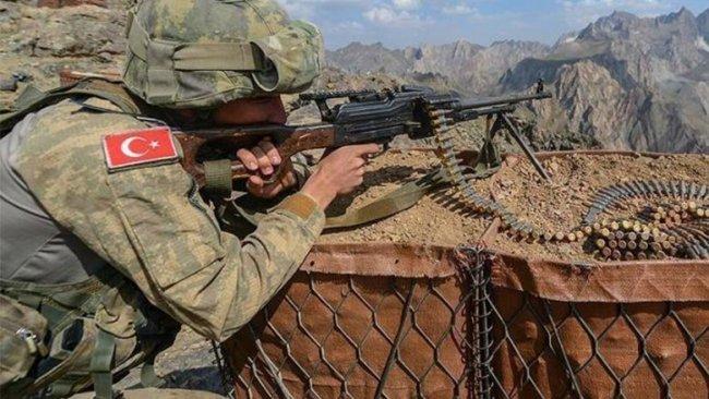 Haftanin'de çatışma: 9 PKK'linin hayatını kaybettiği açıklandı
