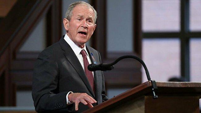 Bush: ABD bir tehlikeyle karşı karşıya