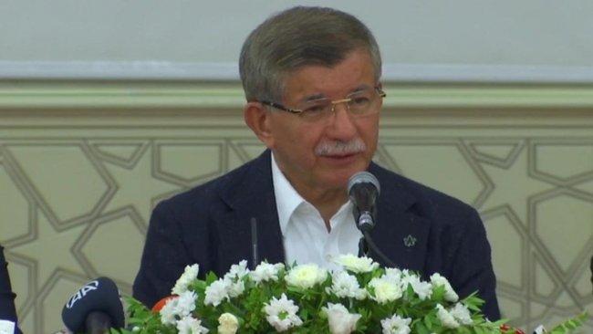Davutoğlu Diyarbakır'da konuştu: 90'lı yılların korkuları geri geldi