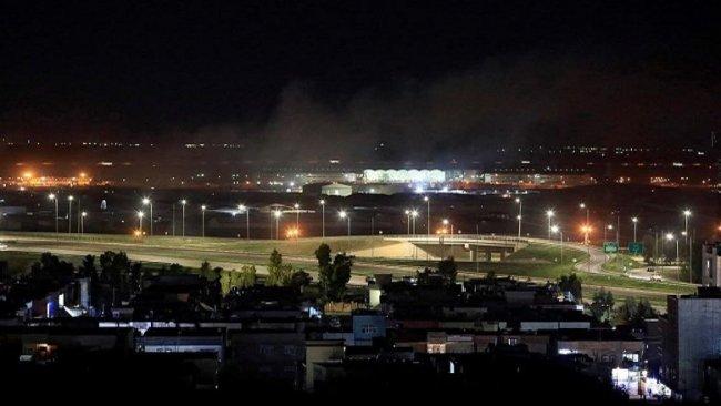 Erbil havalimanına SİHA'lı saldırı!
