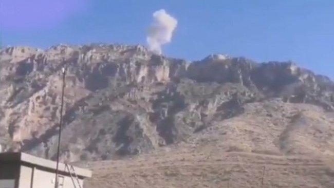 Türk savaş uçakları Şeladize'de kırsalında PKK mevzilerini bombaladı