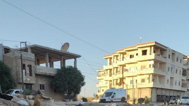 Afrin'de bomba yüklü araç infilak etti!