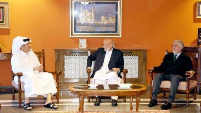 Geçici hükümeti açıklayan Taliban'a ilk üst düzey ziyaret