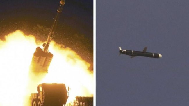 Kuzey Kore, 'nükleer başlık taşıyabilen' uzun menzilli seyir füzelerini denedi