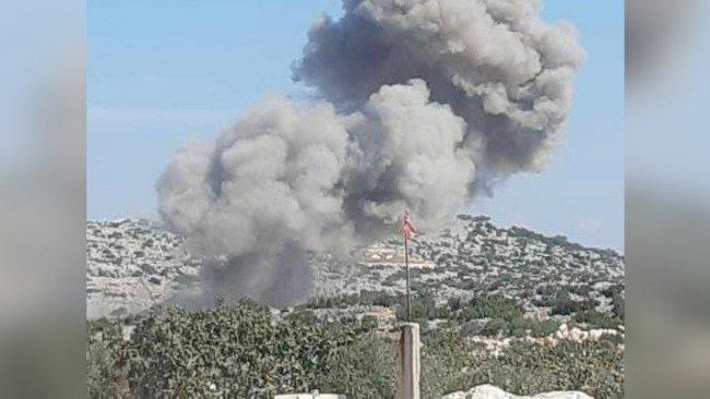 Rus uçakları İdlib'de TSK üssü yakınlarını bombaladı