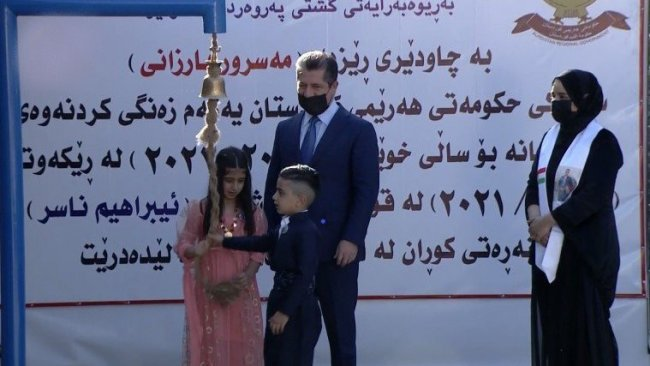 Kürdistan Bölgesi'nde yeni eğitim ve öğretim yılı başladı