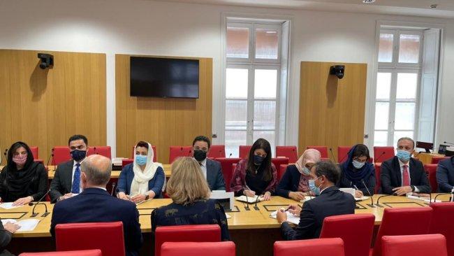 Kürdistan Parlamentosu heyeti Fransa'da