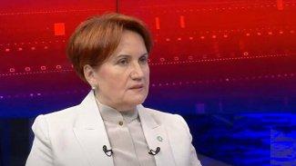 Akşener'den 'Cumhurbaşkanlığı adaylığı' açıklaması: Erdoğan ve HDP karşısında...