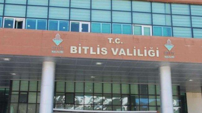 Bitlis'te toplantı ve gösteri yasağı uzatıldı