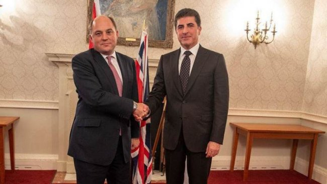 Neçirvan Barzani, İngiltere Savunma Bakanı ile bir araya geldi