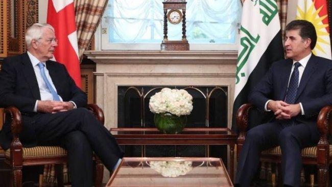 Başkan Neçirvan Barzani'den John Major'a: Kürdistan halkı sadakatinizi asla unutmayacak