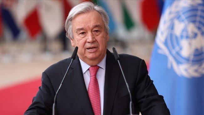 Guterres: Dünya sıcaklık artışına giden felaket bir yolda